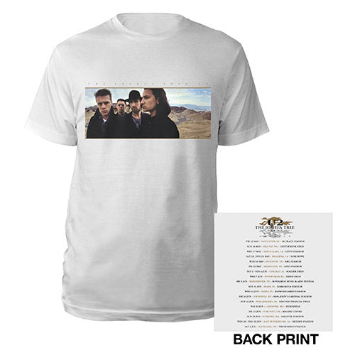 The Joshua Tree Album Cover North American Tour T-Shirt-U2