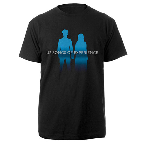 Songs of Experience Silhouette Black T-shirt-U2