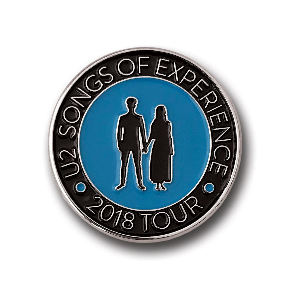 U2 eXPERIENCE + iNNOCENCE Tour Pin Badge