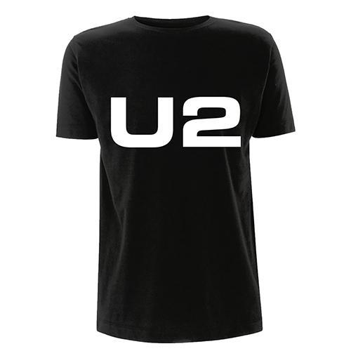 U2 Logo Black T-shirt-U2