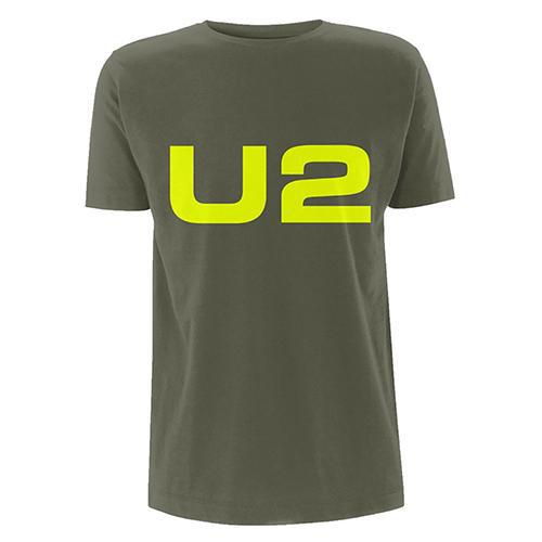 U2 Logo Green T-shirt