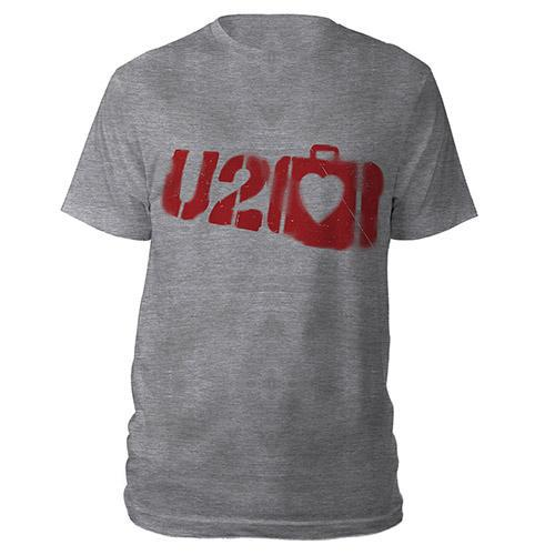 U2 Elevation Grey T-shirt-U2