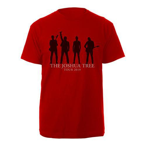 U2 The Joshua Tree Tour 2019 Red T-Shirt-U2