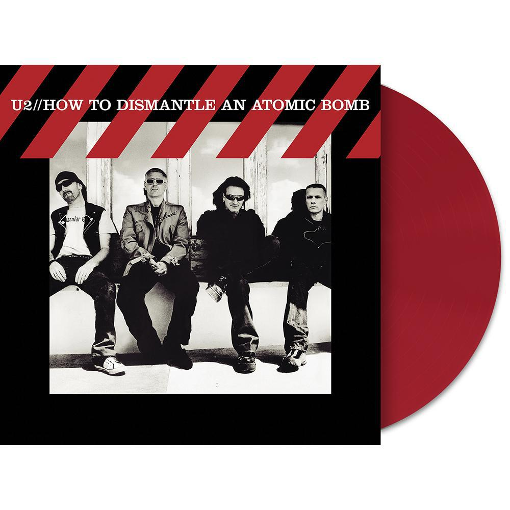 How To Dismantle An Atomic Bomb Limited Edition Red Vinyl