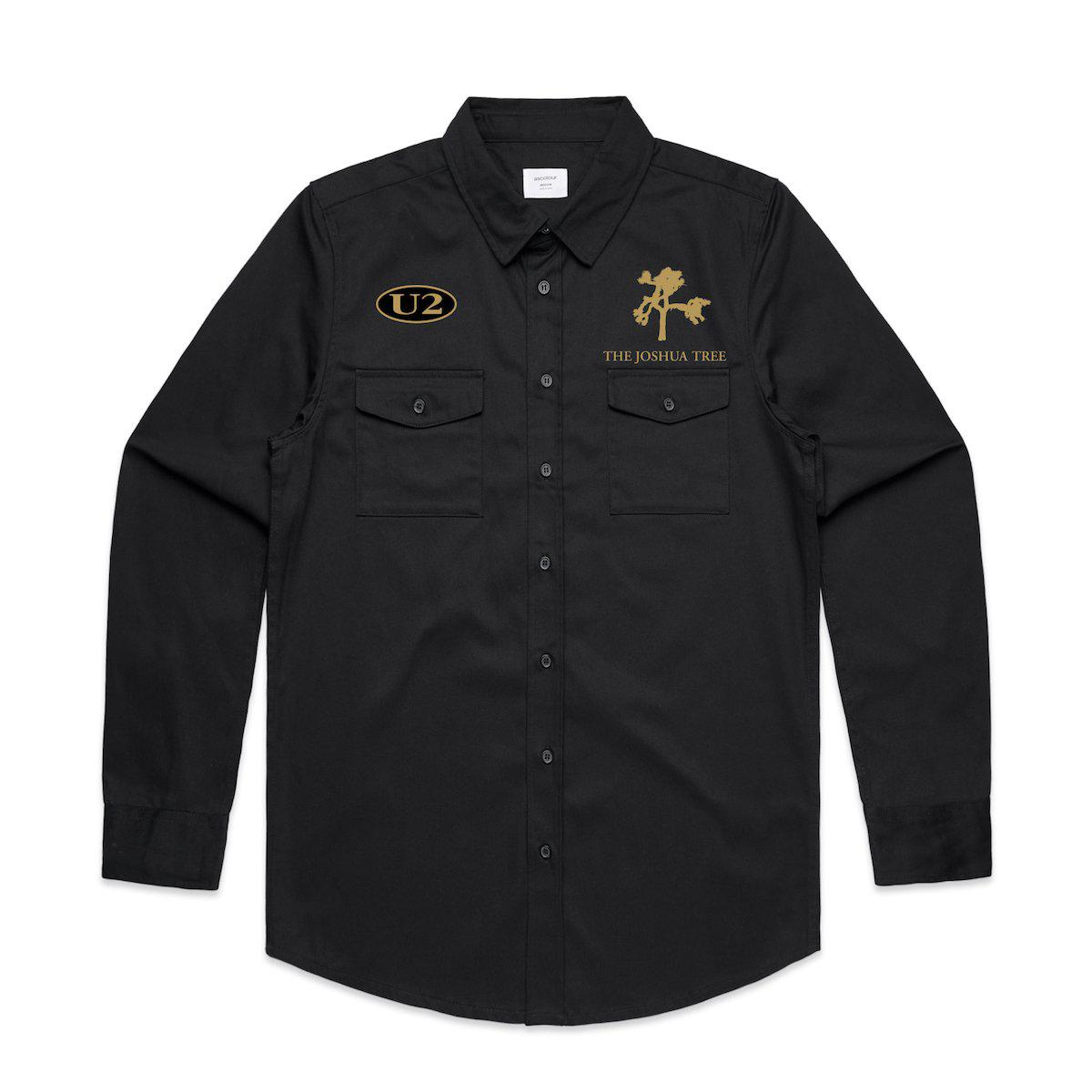 Joshua Tree Military Style Shirt-U2