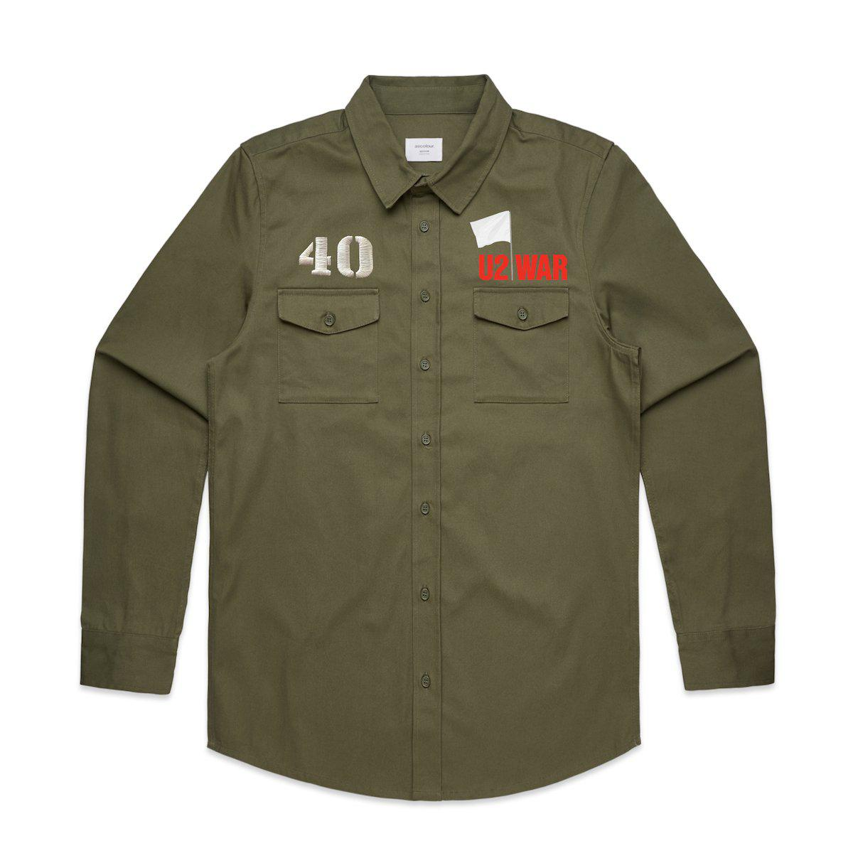 WAR Military Style Shirt-U2