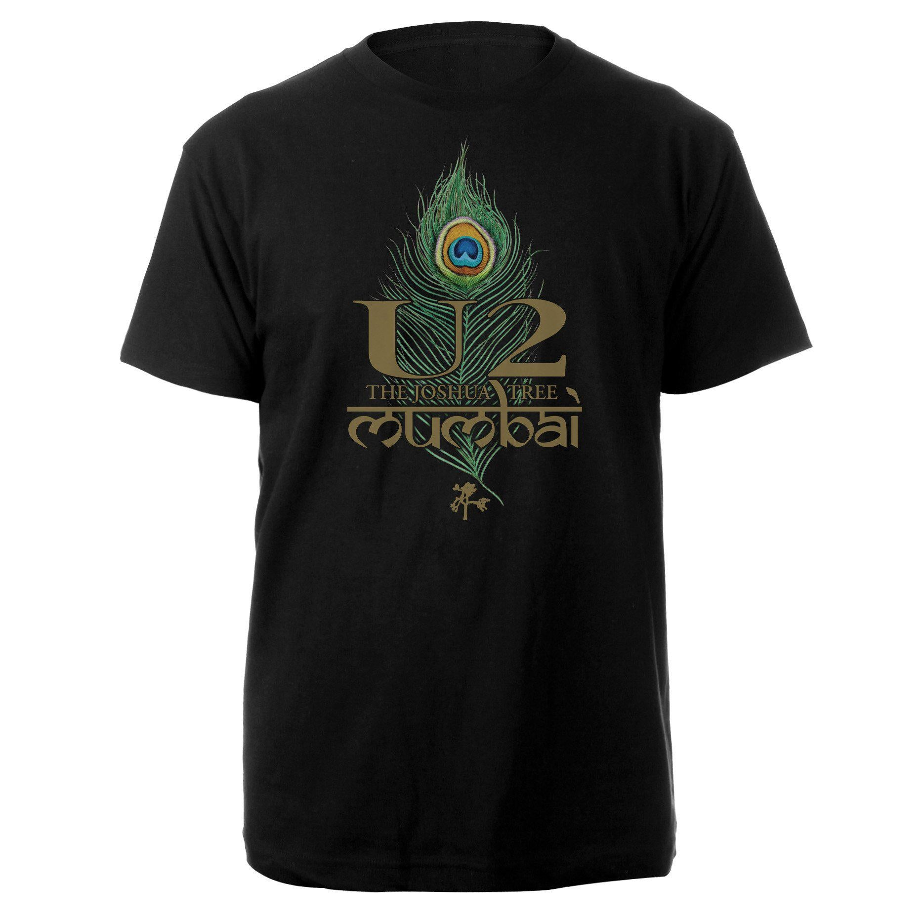 The Joshua Tree Tour 2019 Mumbai Event T-Shirt-U2