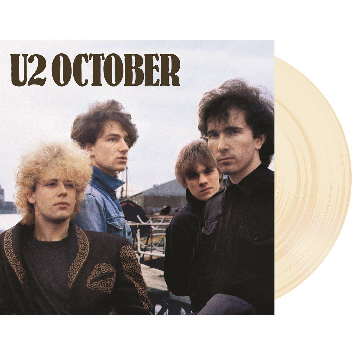October Limited Edition Cream Vinyl-U2