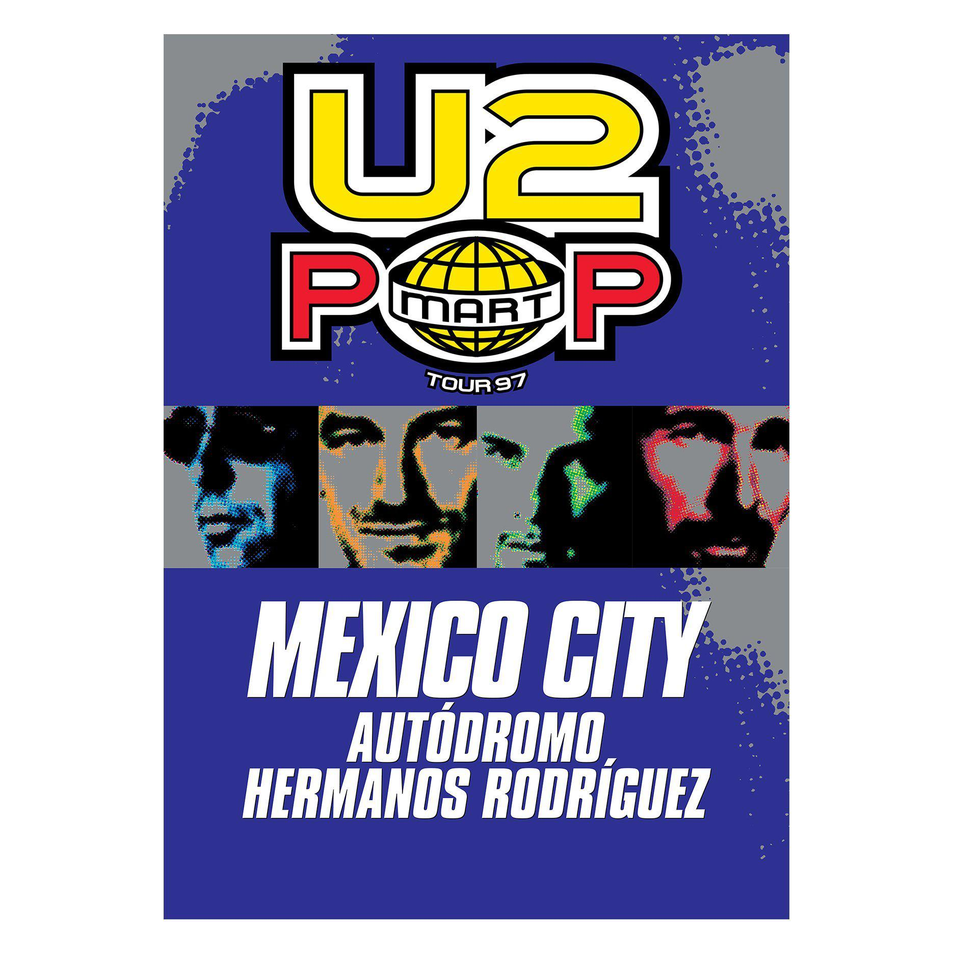 Pop Limited Edition Screenprint-U2