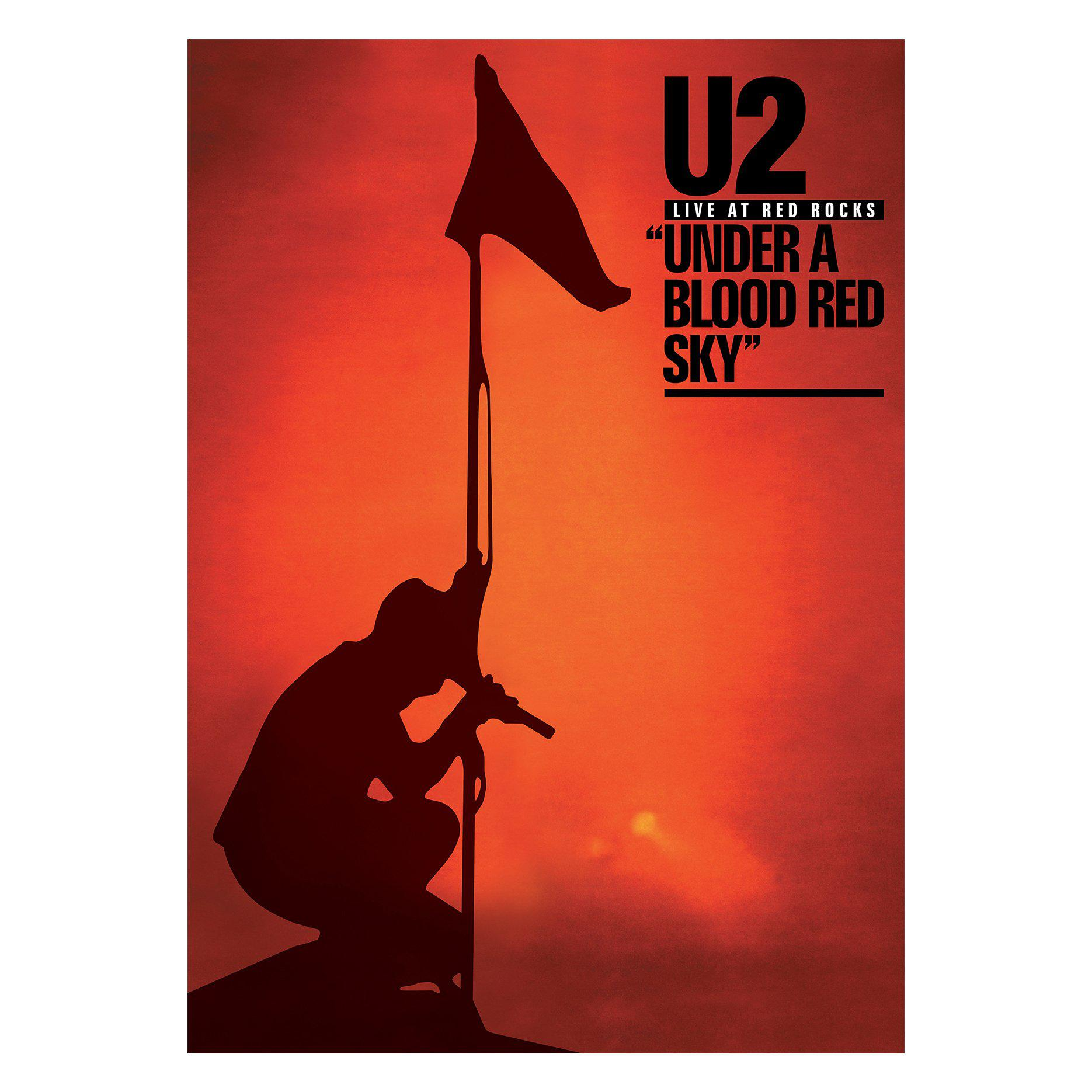 Red Rocks Limited Edition Screenprint-U2