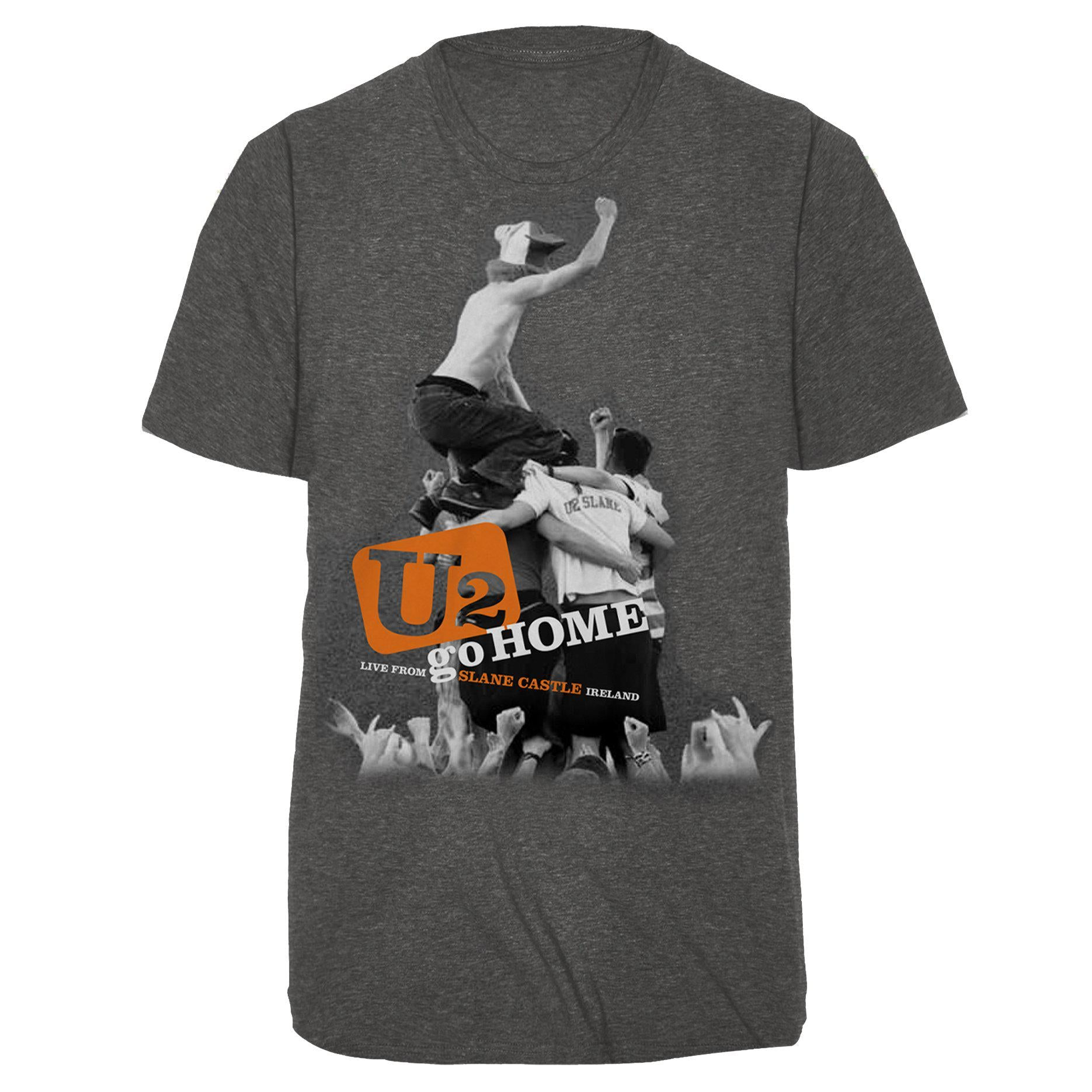 U2 Slane Heather Grey Tee-U2