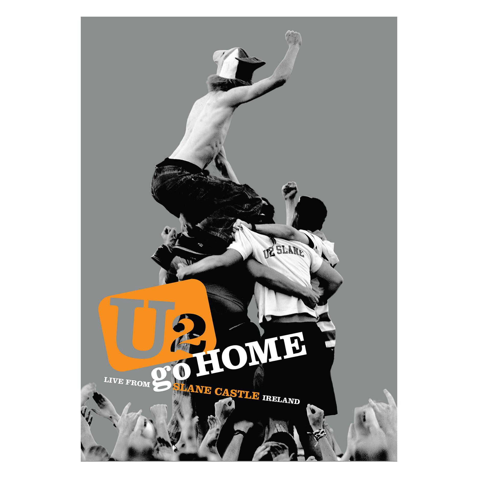 Slane Limited Edition Screenprint-U2