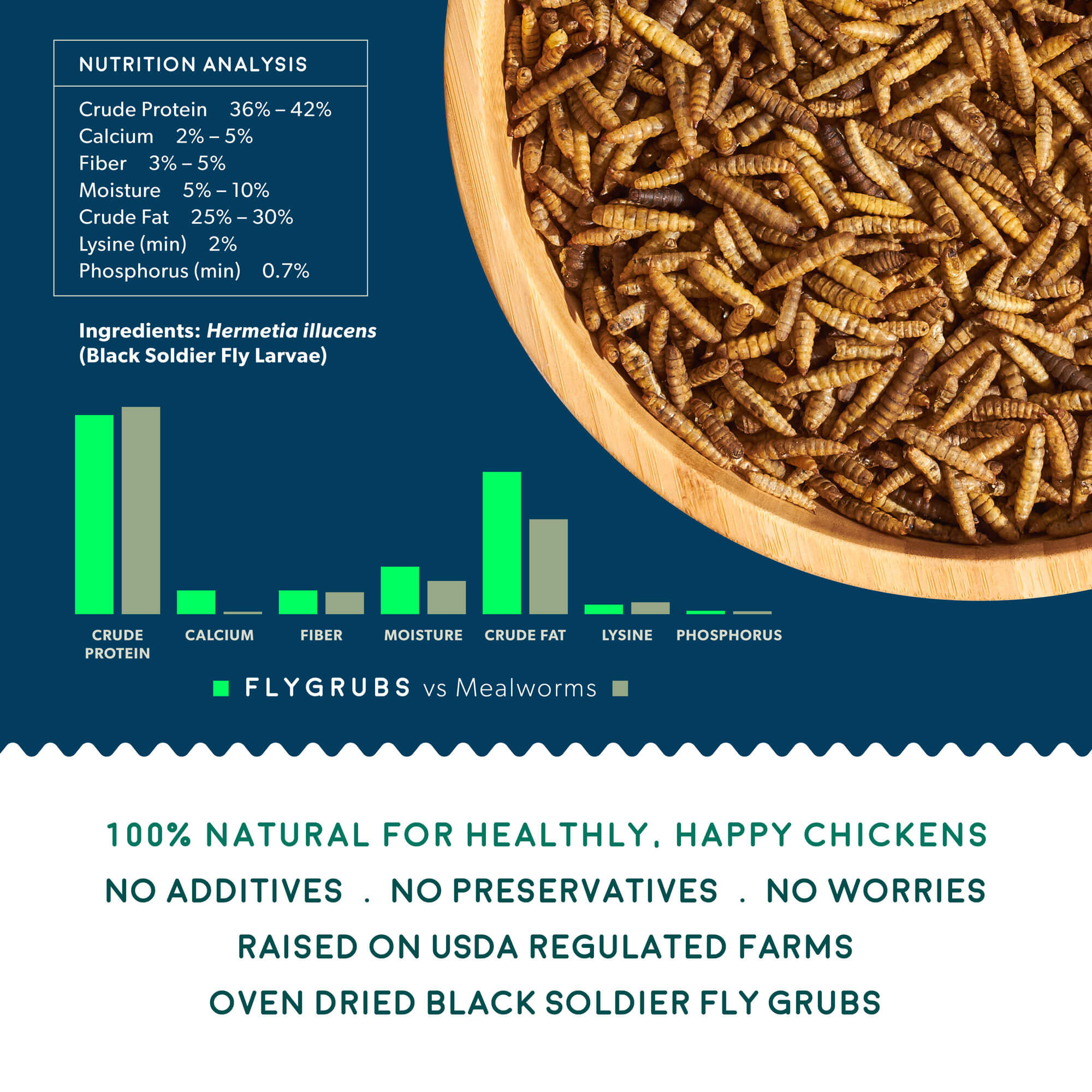 FLYGRUBS 5LB (SUPER SAVER & FREE SHIPPING)