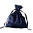 "12 pcs 4x5"" Satin Bags with Pull String - Navy Blue BAG_SB_4X6_NAVY"