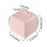 25 Cupcake Purse Wedding Favors Boxes - Blush BOX_23_046