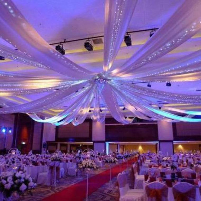 "28"" Ceiling Draping Hoop Ring Hardware Kit for Wedding Party BKDP_CEIL28"