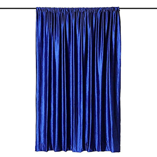8 ft x 8 ft Premium Velvet Backdrop Curtain - Royal Blue BKDP_VEL_8x8_ROY