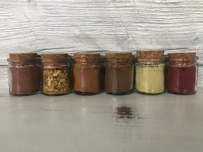 Raw Natural Dyes