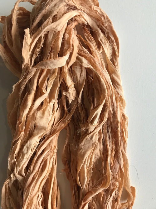 Recycled Sari Silk Ribbon