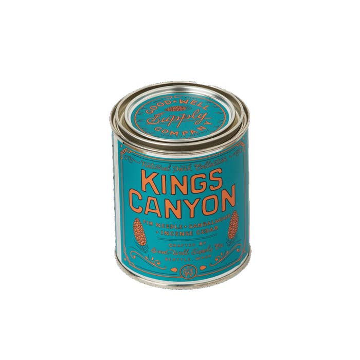 Good and Well Kings Canyon Candle