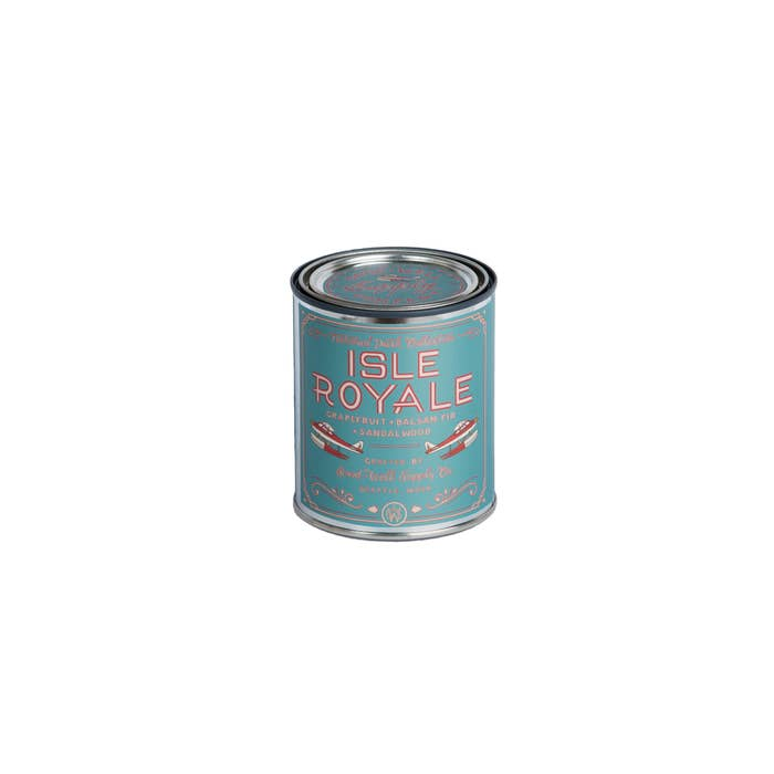 Good and Well Isle Royale Candle