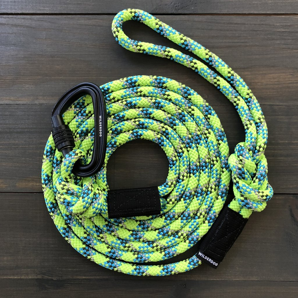Wilderdog Lime Reflective Leash