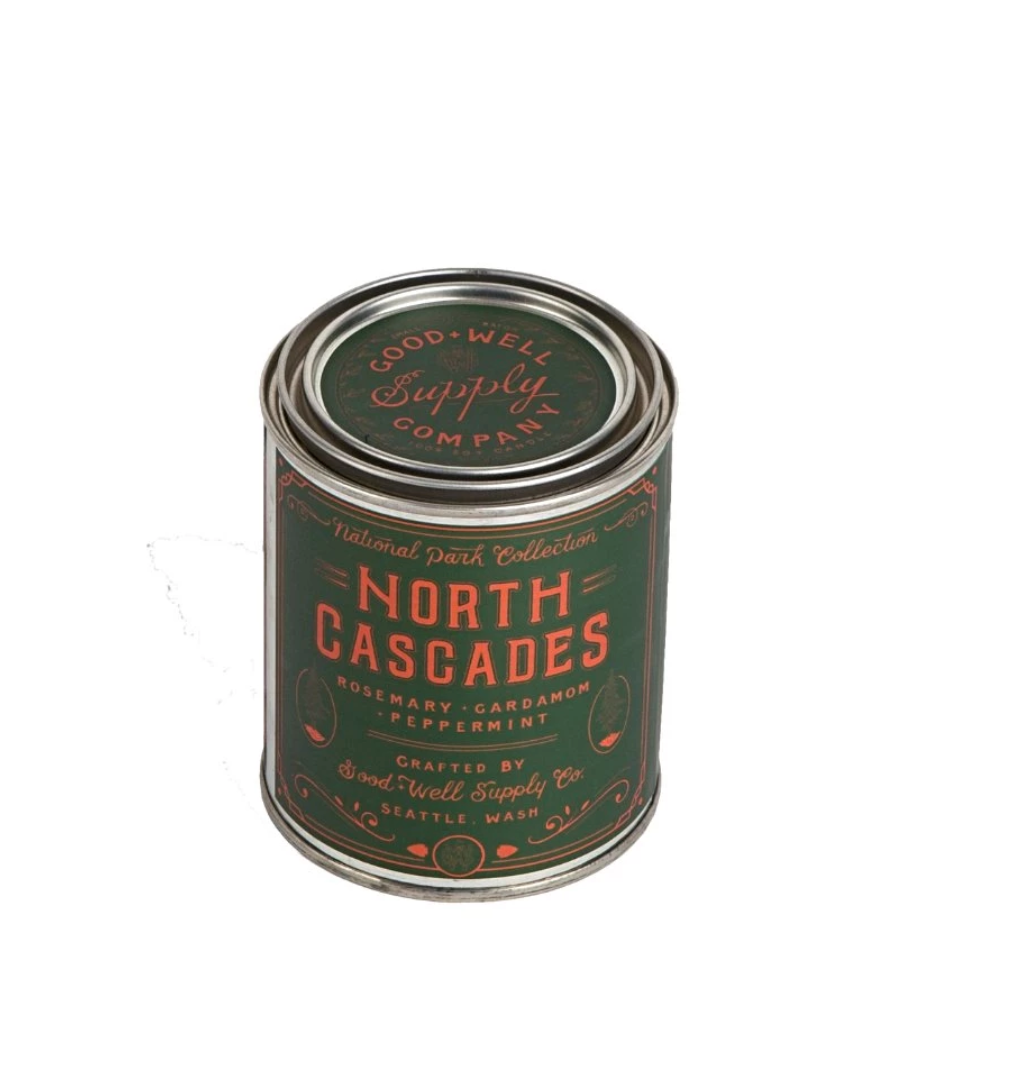 Good and Well North Cascades Candle