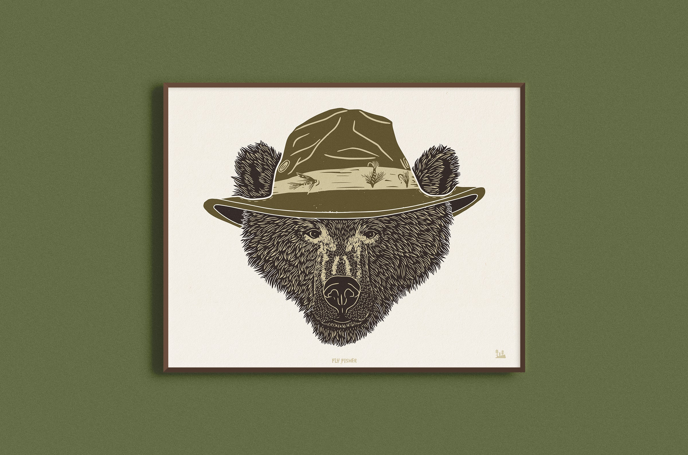 Fly Fisher Print