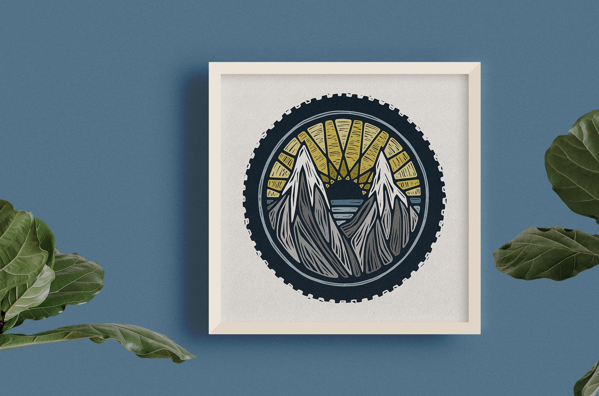 Mountain Biking Print