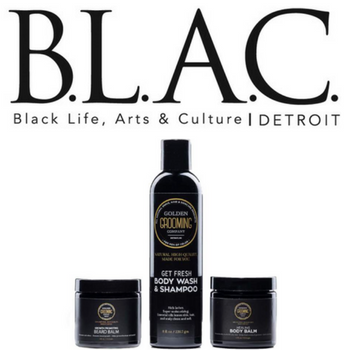 BLAC Detroit Features Golden Grooming Co.