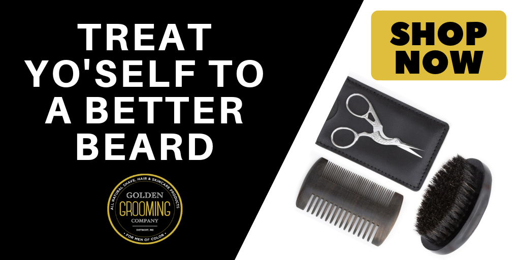 Best beard brush and beard comb for black men