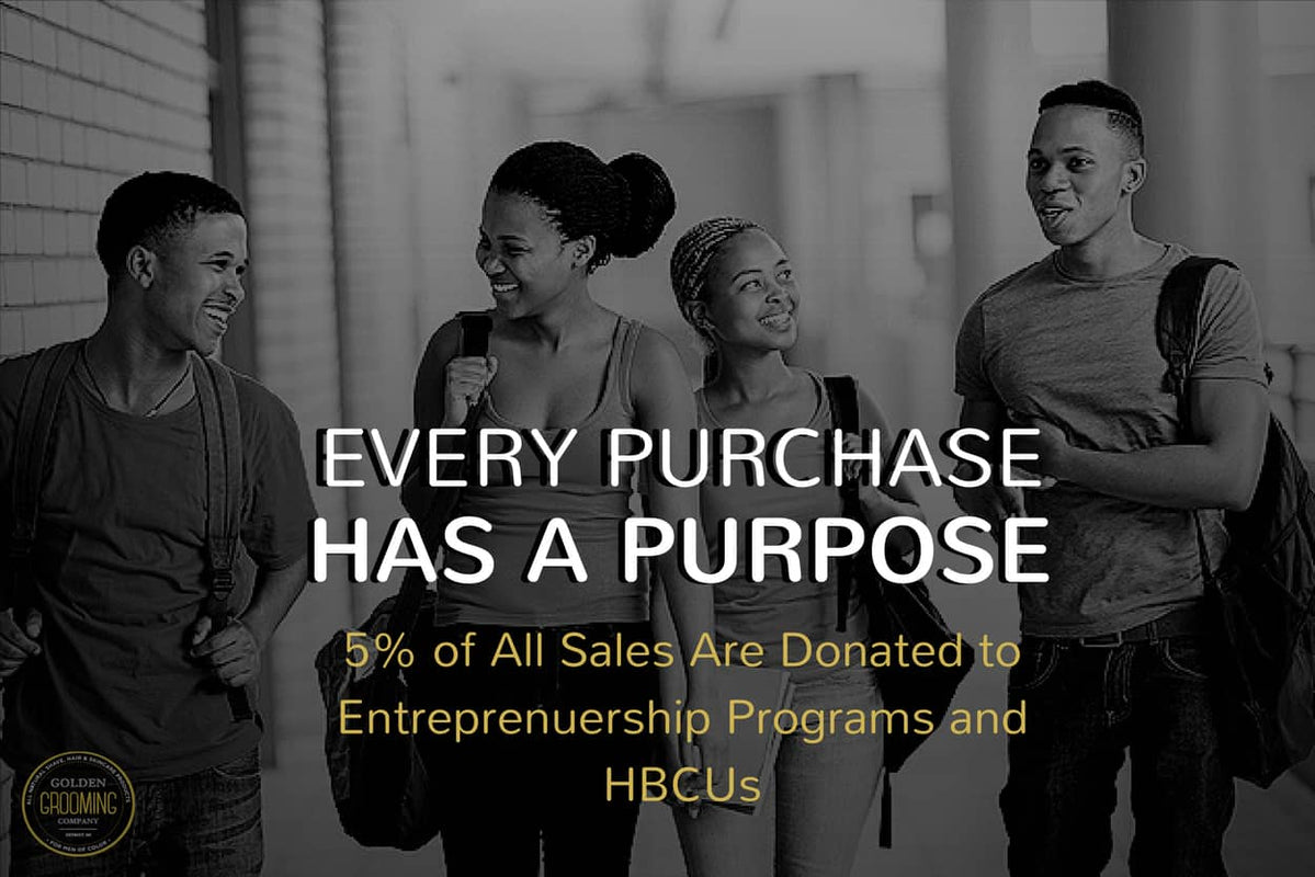 5% of all sales are donated