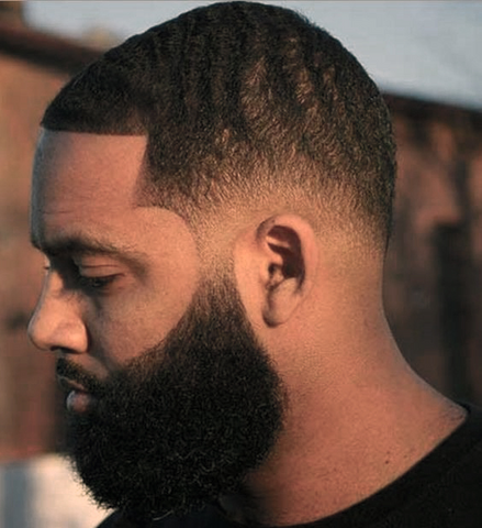 Full Beard Style for Black Men