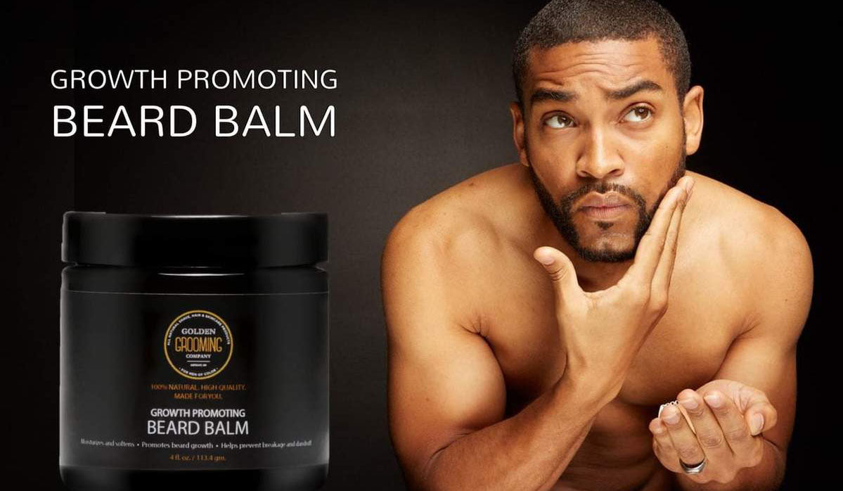 Designed specifically for men of color; ideal for coarse and curly beards
