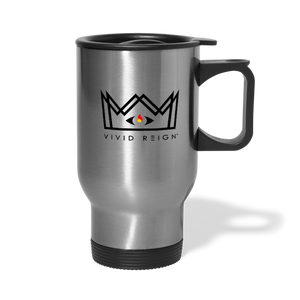 V.R. Travel Mug (Handle) - silver