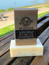 Load image into Gallery viewer, Shea Honey and Oat Natural Soap Bar (great for eczema)