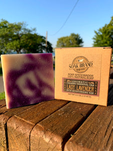 Lady Lavender Natural Soap Bar