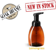 Load image into Gallery viewer, Lemongrass Natural Foaming Soap