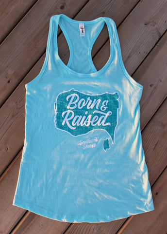 Ladies Born & Raised Tank