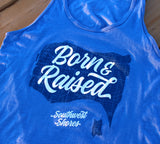 Men's/Unisex Born & Raised Muscle Tank Top