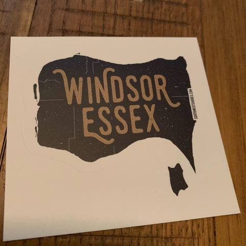 Windsor-Essex Map Sticker