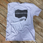 Load image into Gallery viewer, Born & Raised Map Tee