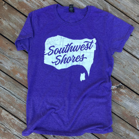 Women's Southwest Shores Logo Tee