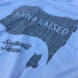 Women's Born & Raised Map Tee