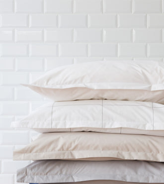 Set de 2 Taies d'Oreillers Percale