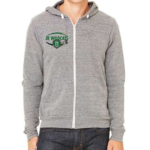 Jr Wildcats Full-Zip Fleece Hoodie