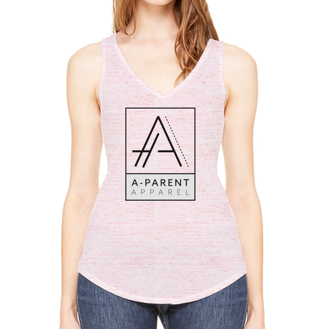Custom Ladies Flowy V-Neck Tank