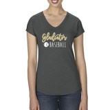Gladiators Triblend V-Neck Tee