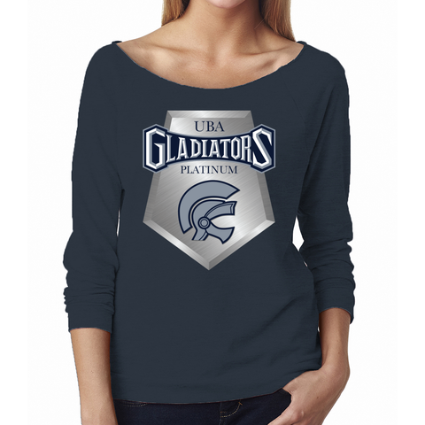 Gladiators Platinum Terry 3/4 Raglan