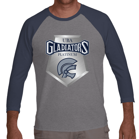 Gladiators Platinum 3/4 Sleeve